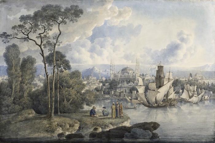 """Exposition """"Voyages en Italie"""" de Louis-François Cassas. Musée des Beaux-Arts de Tours 2incik11"""
