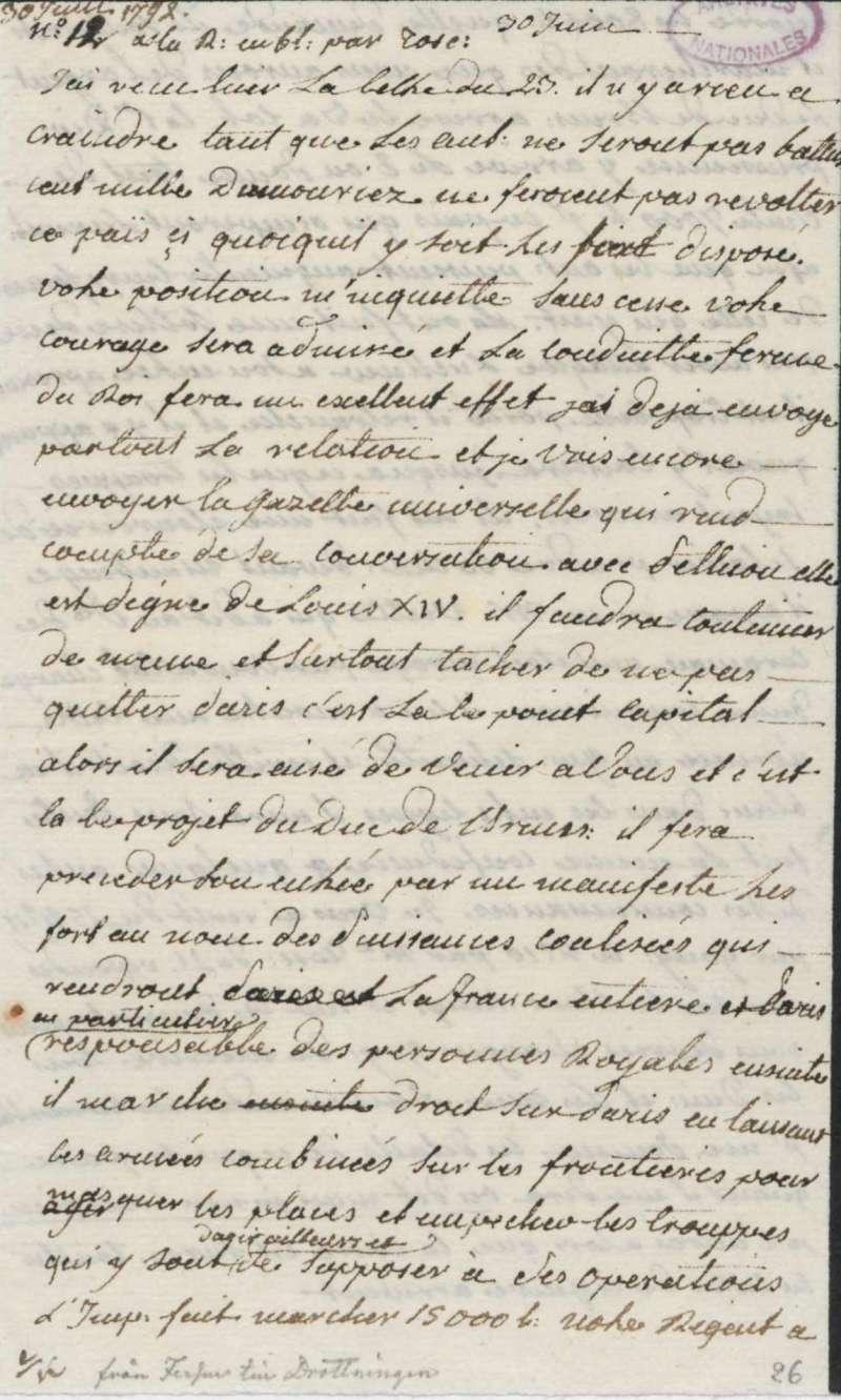 Les lettres de Fersen à Marie-Antoinette - Page 2 30_jui10