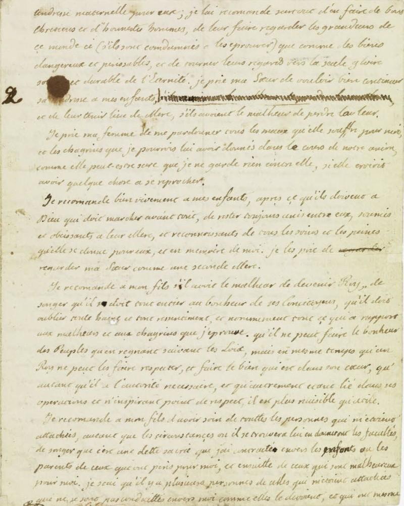 Le Testament de Louis XVI 310