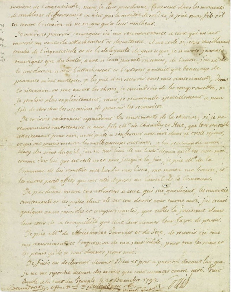 Le Testament de Louis XVI 410