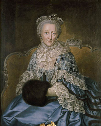 Galerie de portraits : Le manchon au XVIIIe siècle  480px-10