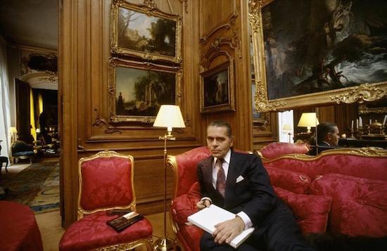"Les collections ""XVIIIè siècle"" de Karl Lagerfeld 4964e210"