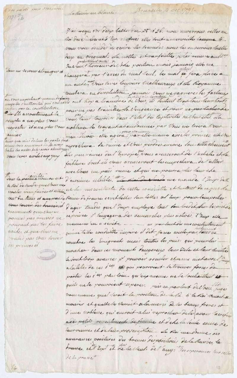 Les lettres de Fersen à Marie-Antoinette 4_dec_10
