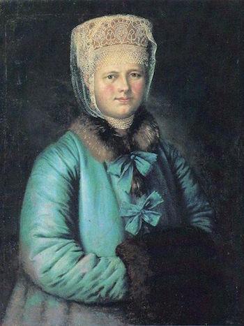 Galerie de portraits : Le manchon au XVIIIe siècle  6606fb10