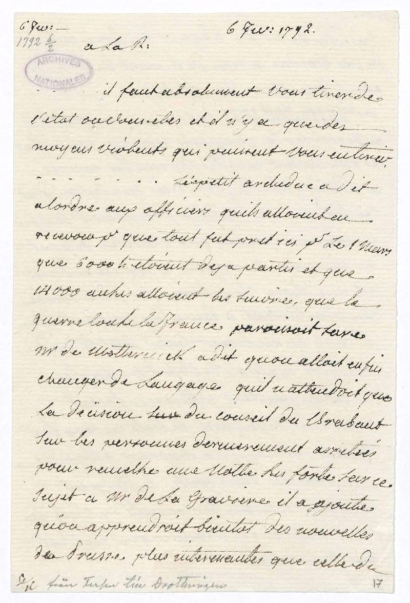 Les lettres de Fersen à Marie-Antoinette 6_fev_10