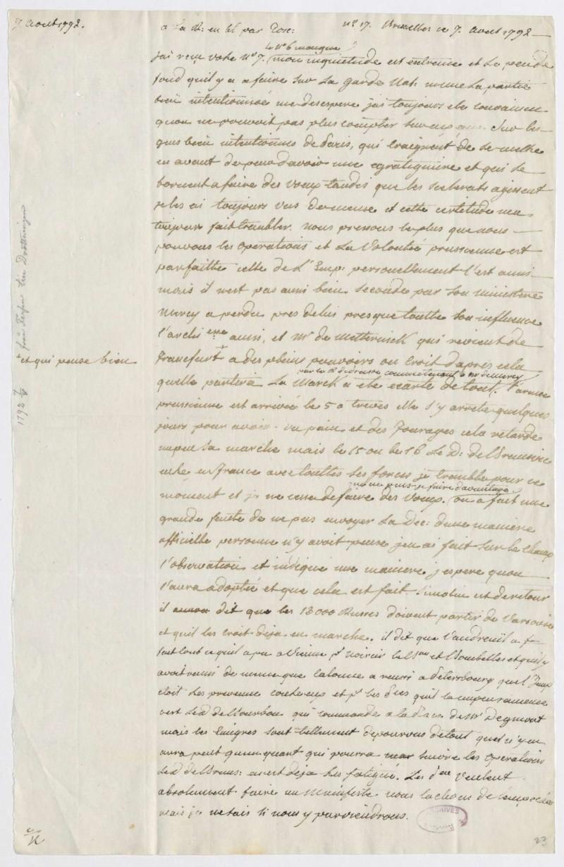 Les lettres de Fersen à Marie-Antoinette - Page 2 7_aout10