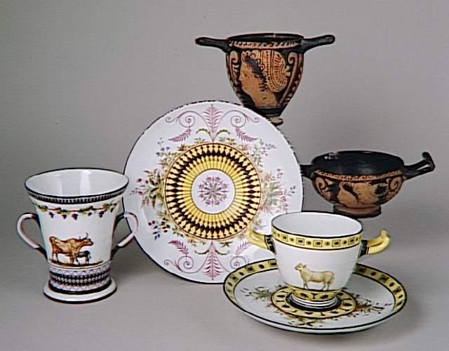Service de Marie-Antoinette pour Rambouillet en porcelaine de Sèvres 92-00010