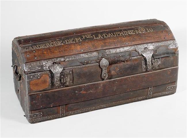 Malles et coffres de voyage de Marie-Antoinette 93-00011
