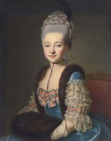 Galerie de portraits : Le manchon au XVIIIe siècle  98b2ab10