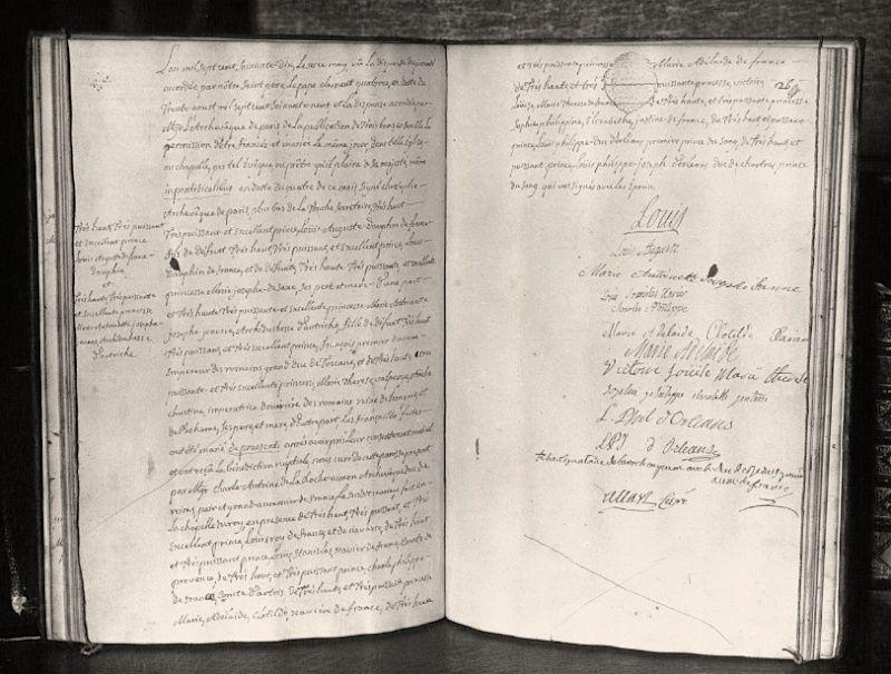 Le mariage de Louis XVI et Marie-Antoinette  - Page 9 Acte_m10