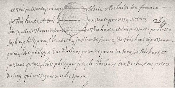 Le mariage de Louis XVI et Marie-Antoinette  - Page 9 Acte_m13