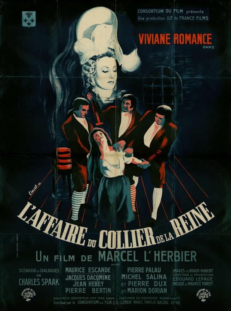 Film : L'affaire du collier, de Marcel Lherbier Affair10