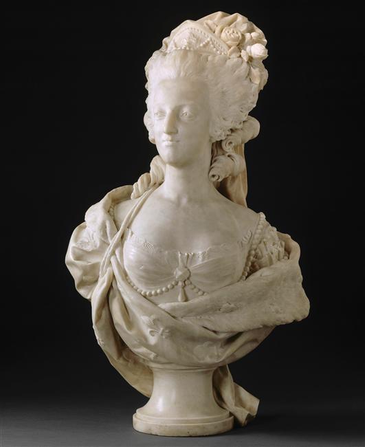 Marie Antoinette, par (et d'après) Louis-Simon Boizot Boizot10