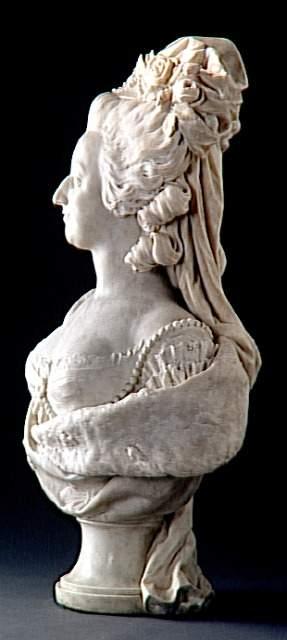 Marie Antoinette, par (et d'après) Louis-Simon Boizot Boizot11