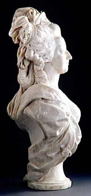 Marie Antoinette, par (et d'après) Louis-Simon Boizot Boizot12