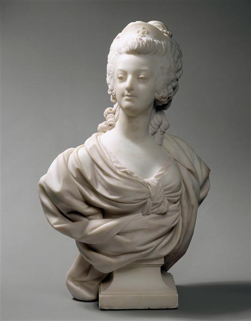 Marie Antoinette, par (et d'après) Louis-Simon Boizot Boizot14