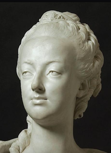 Marie Antoinette, par (et d'après) Louis-Simon Boizot Boizot15