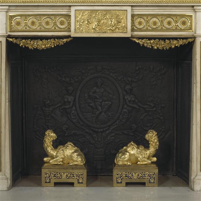 Le boudoir turc de Marie-Antoinette à Fontainebleau - Page 2 Boudoi11