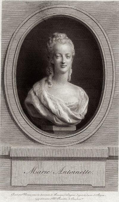 Marie Antoinette, par (et d'après) Louis-Simon Boizot Bust_m12