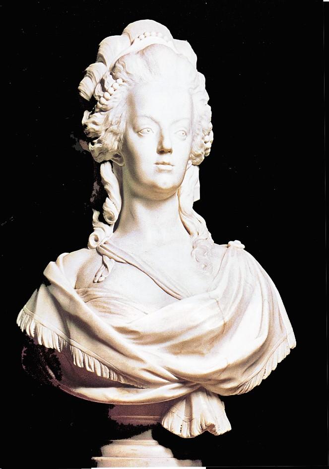 Buste de Marie-Antoinette par Joseph Fernande Buste_17
