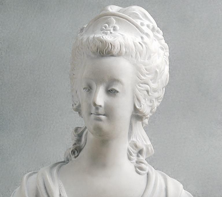 Buste de Marie-Antoinette d'après Brachard (Jean-Charles ou Jean-Nicolas) Buste_19