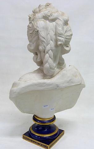 Bustes de Marie Antoinette par et d'après Félix Lecomte Buste_20