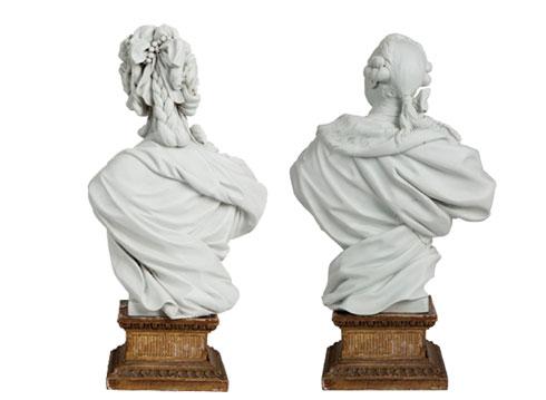 Marie Antoinette, par (et d'après) Louis-Simon Boizot Bustes10