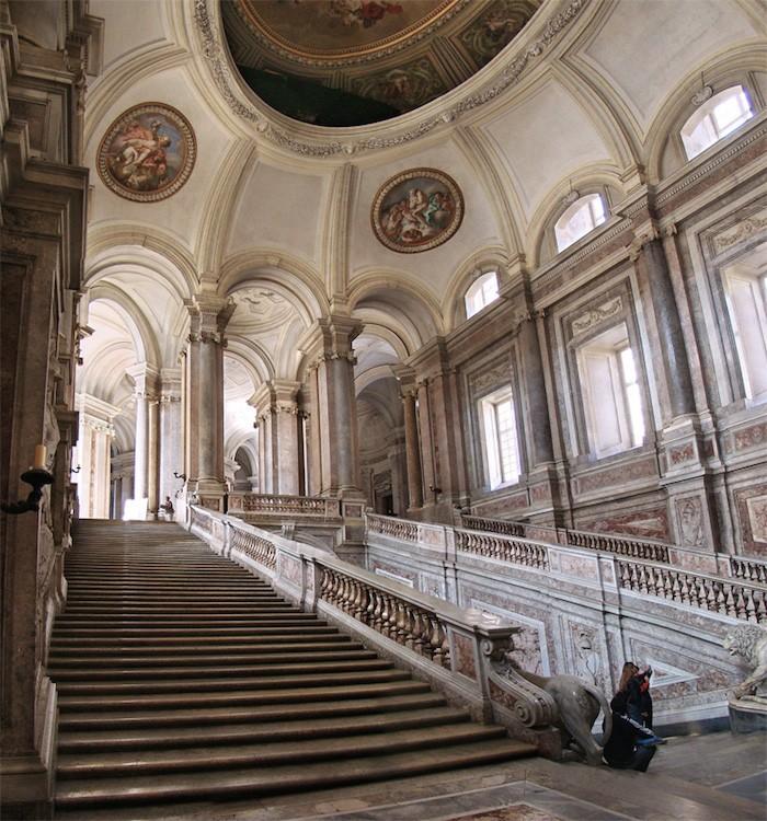 Marie-Caroline à Naples : le Palais Royal de Caserte Campan11