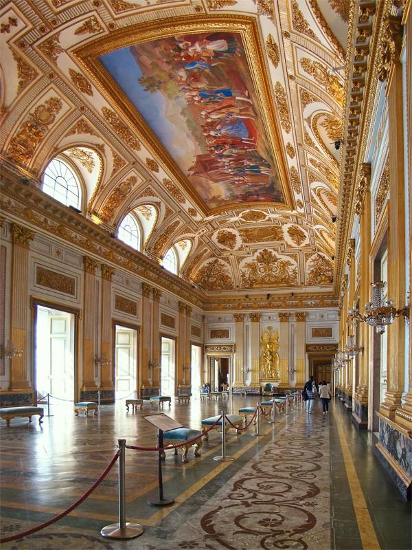 Marie-Caroline à Naples : le Palais Royal de Caserte Campan13
