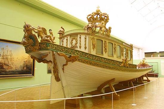 Le canot de promenade de Marie-Antoinette à Versailles Canot10