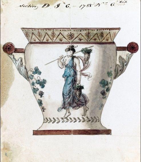 Service de Marie-Antoinette pour Rambouillet en porcelaine de Sèvres Captu107
