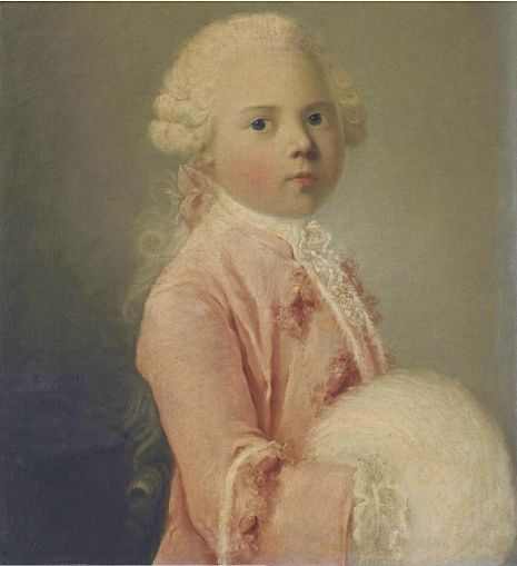 Galerie de portraits : Le manchon au XVIIIe siècle  Captu119