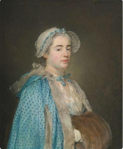 Galerie de portraits : Le manchon au XVIIIe siècle  Captu121