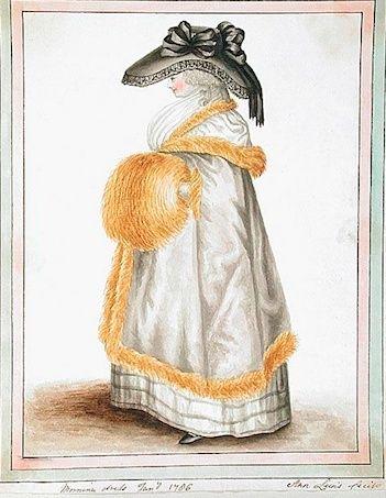 Galerie de portraits : Le manchon au XVIIIe siècle  Captu122