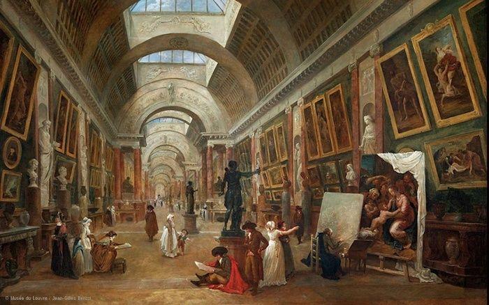 Exposition Hubert Robert au Musée du Louvre Captu164