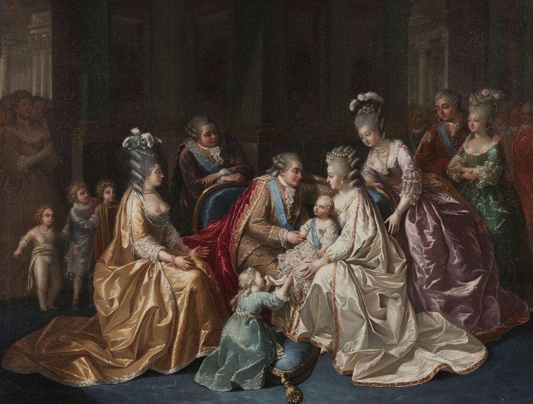 Louis-Auguste Brun, portraits de Marie-Antoinette en tenue de chasse Captu177
