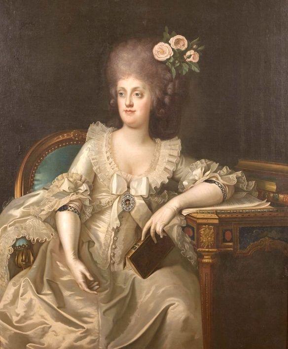 Portraits de Marie Caroline d'Autriche, reine de Naples et de Sicile Captu294