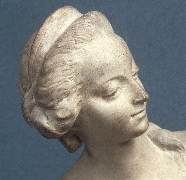 Marie-Antoinette, allégorie de la naissance du dauphin, par et d'après Augustin Pajou Captur17