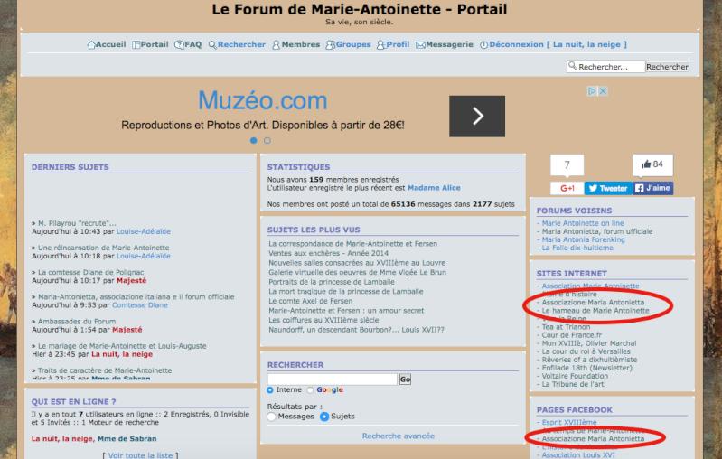 Maria-Antonietta, associazione italiana e il forum officiale Captur27
