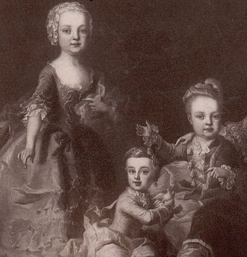 Portraits de Marie-Antoinette au clavecin, par Franz Xaver Wagenschön Captur40
