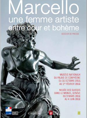 Bustes de Marie-Antoinette par la duchesse Castiglione-Colonna, Adèle d'Affry, dite Marcello Captur42
