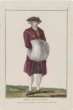 Galerie de portraits : Le manchon au XVIIIe siècle  Captur43