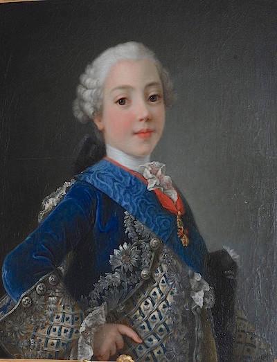 fredou - Portraits de Marie-Antoinette et de la famille royale, par Jean-Martial Frédou Comte_14