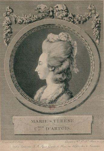 Marie Antoinette, par (et d'après) Louis-Simon Boizot Comtes10