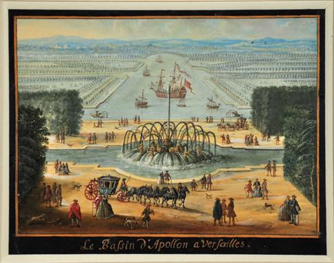 Le canot de promenade de Marie-Antoinette à Versailles Cour-v10
