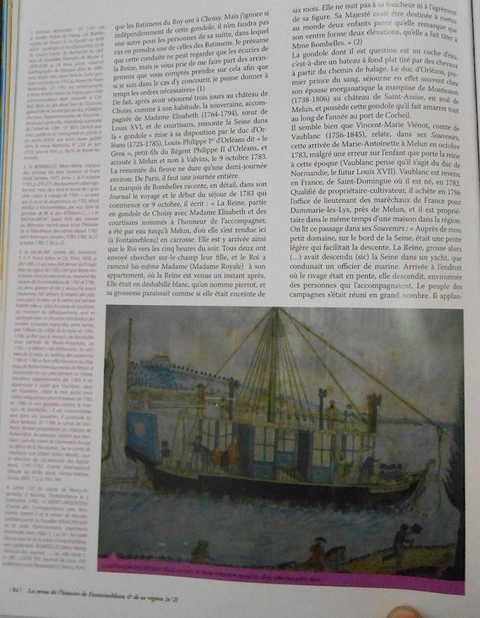 La Sirène : le bateau ou yacht royal de Marie-Antoinette Dscn0211