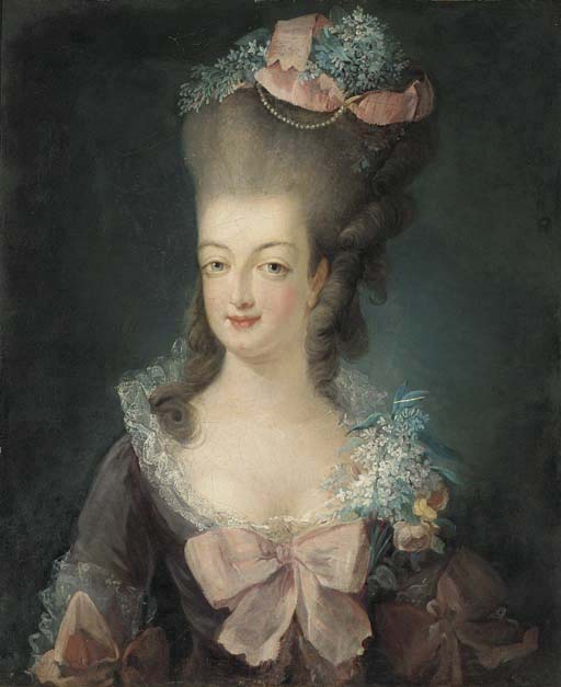 Portraits de Marie-Antoinette attribués aux Gautier Dagoty (ou d'après). - Page 2 Ecole_10