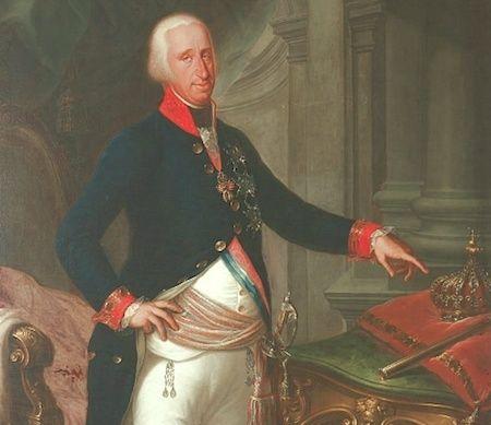 Un beau-frère de Marie-Antoinette :   Ferdinand IV , roi de Sicile Ferdin17