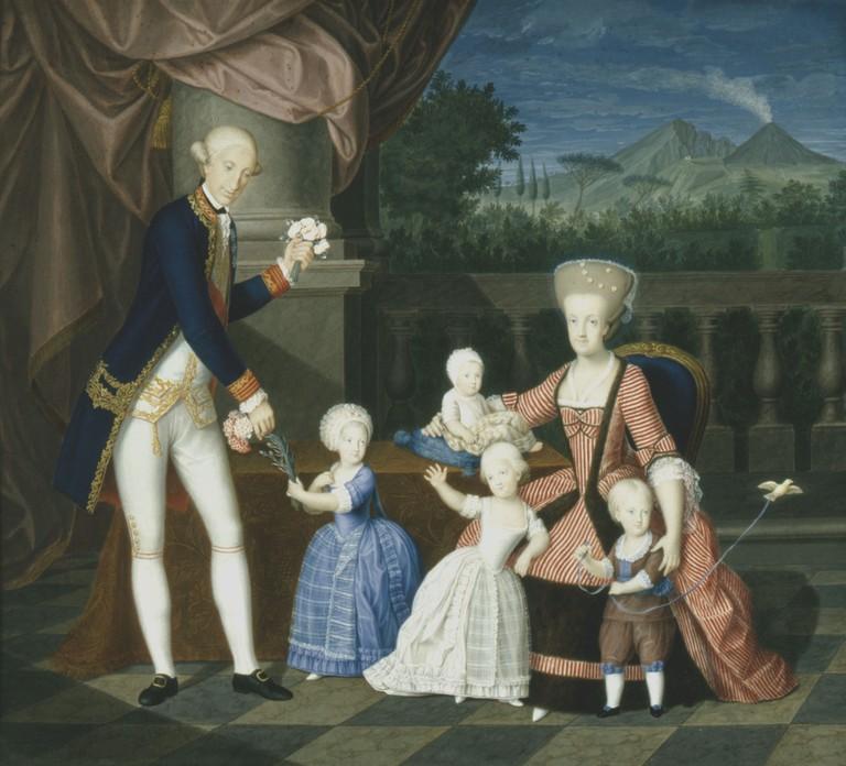 Un beau-frère de Marie-Antoinette :   Ferdinand IV , roi de Sicile Ferdin18