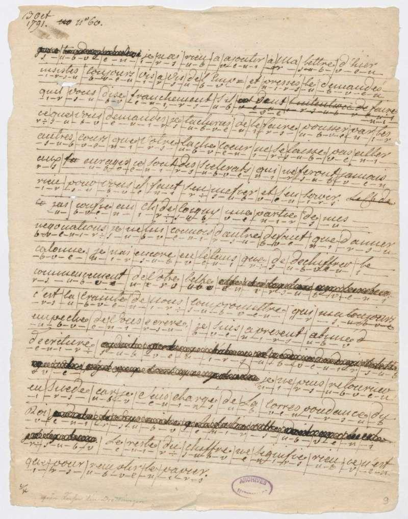 Les lettres de Fersen à Marie-Antoinette Fersen10